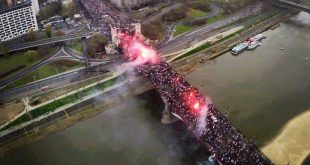 STOP ISLAMIZACIJI: Održan najveći protest protiv muslimana u Evropi. (VIDEO)